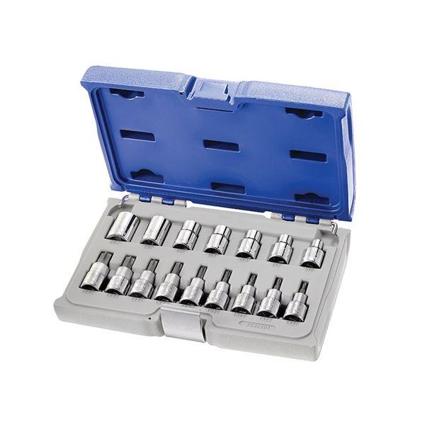 Expert Socket & Accessory Set of 42 Metric 1/4in Drive