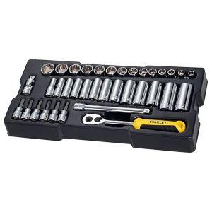 Stanley Tools 3/8in Drive Metric Socket Module 36 Piece
