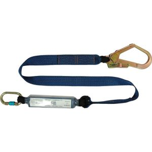 Talurit UFS PROTECTS UT832 1.8m Energy Absorbing Webbing Lanyard Scaffold Hook & Carabiner