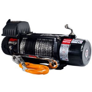 Warrior Warrior Spartan 3629kg 24V DC Synthetic Rope Winch