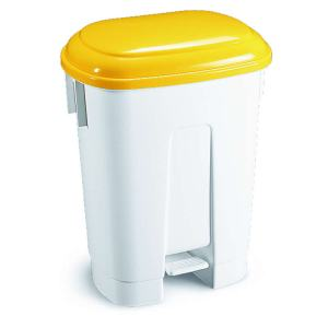 30 Litre Pedal Bins With Red Lid