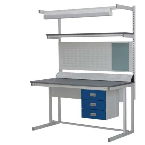 Beech Hardwood Top Cantilever Workbench 1500w x 900d