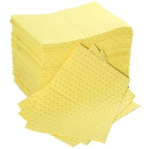 Double Weight Chemical Absorbent Spill Pads pack of 100