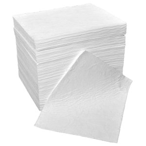 Double Weight Oil & Fuel Absorbent Spill Pads pack of 100