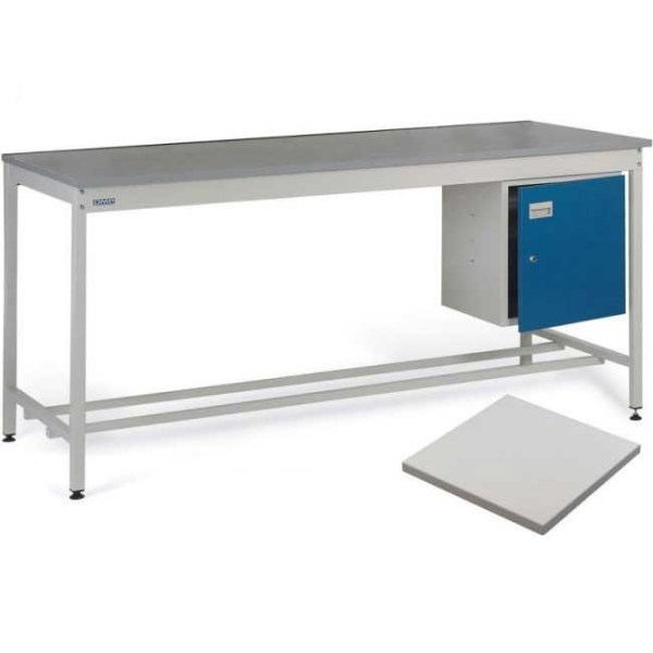 ESD Workbench with Lamstat Worktop 1200w x 750d Bench