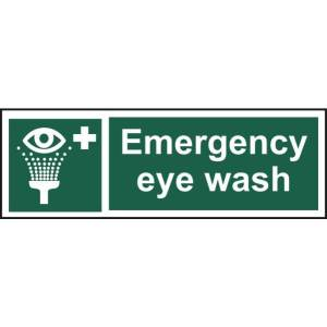 Emergency Eyewash Sign