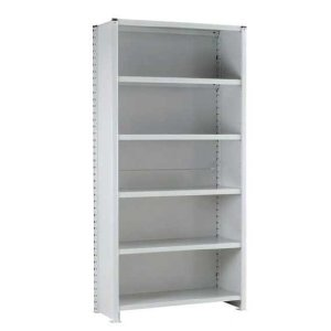 Euro Shelving Fully Clad Bay - 6 shelf Extension 1800h x 1000w x 400d
