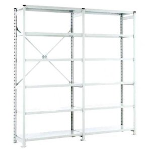Euro Shelving Open Bay - 6 shelf Extension 1800h x 1000w x 600d