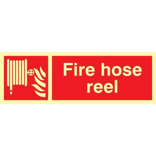 Fire Hose Reel Sign - PHO (300 x 100mm)