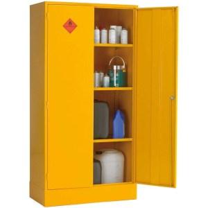 Flammable Liquid COSHH Storage Cabinet 460 x 460 x 305mm