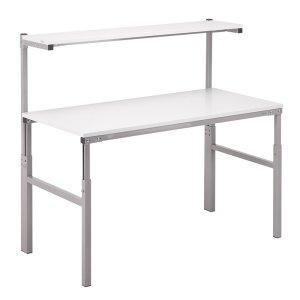 Height Adjustable ESD Workbench Allen Key 900x1500 Worktop inc Shelf