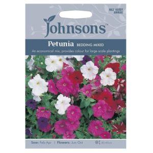 Johnsons Petunia Bedding Mixed Seeds
