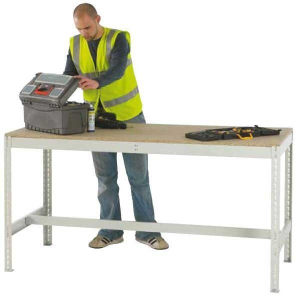 Just Workbench with Chipboard Top 1800 wide x 900 deep