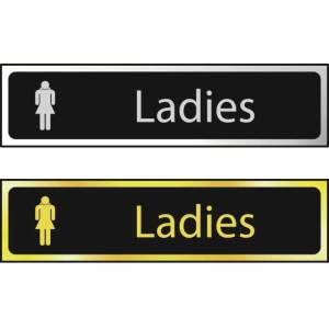 Ladies - Sign POL (200 x 50mm)