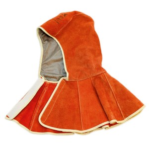 Leather Welding Safety Hood
