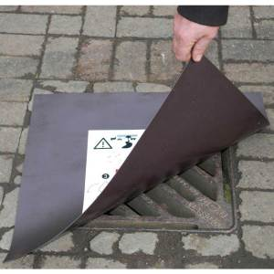 Magnetic Spill Control Drain Cover