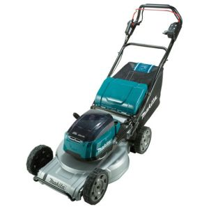 Makita Makita DLM533PT4 Brushless Aluminium Deck Self-Propelled Lawn Mower 53cm (with 4 x 5.0Ah batteries and DC18RD Twin Port Charger)