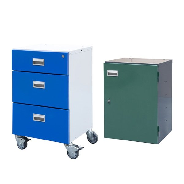 Mobile Cupboard + Drawer 685 high for BA/BC/BE/BQ Workbenches