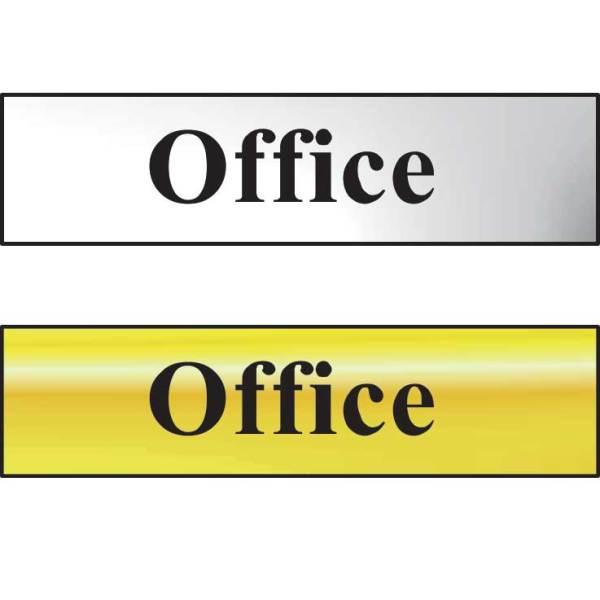 Office Sign - CHR (200 x 50mm)
