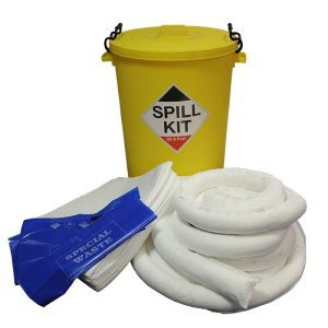 Oil & Fuel Emergency Spill Kits - Oil Stores / Large Workshop Kit