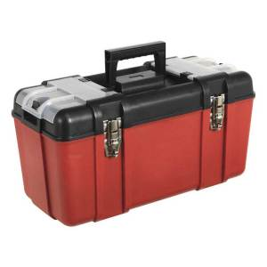 Sealey AP535 Toolbox with Tote Tray & 2 Organisers 495w x 230d x 250h