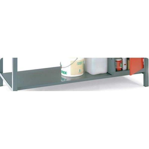 Steel Lower Shelf for Engineers Workbench 1500w x 600d bench