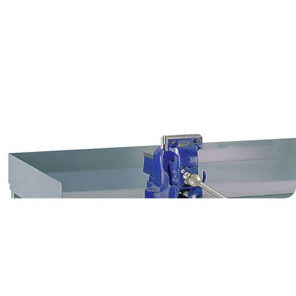 Steel Retaining Lip for Engineers Workbenches 75h for 1500w x 750d