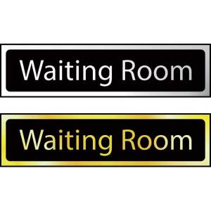 Waiting Room - Sign CHR (200 x 50mm)