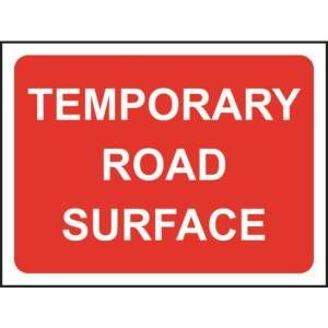 Zintec 1050x750mm Temporary Road Surface Road Sign (no frame)
