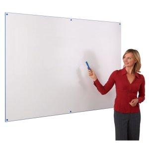 Colour edged whiteboard 900 x 1200