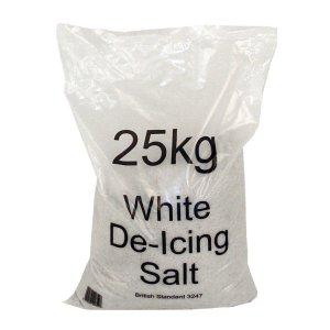 Dry White Rock Salt Individual Bag 25kg