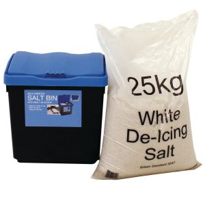 Economy salt bin, 47 ltr bin only