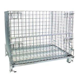 H/D Folding Cage Pallets 1500kg cap 900h x 1200w x 1000d