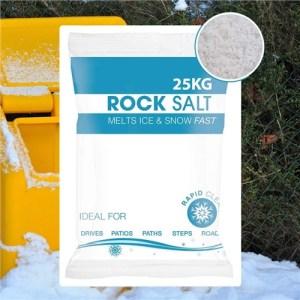 Hadley White De-Icing Rock Salt - 15KG