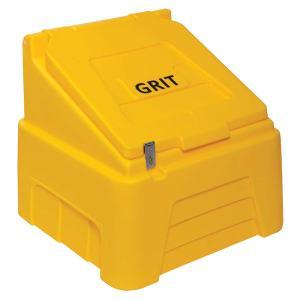 Heavy Duty Grit Bin - 200kg capacity - Red