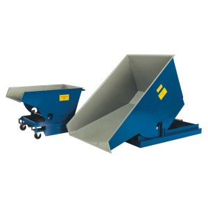 Heavy Duty Tipping Skips - 0.25 cubic m - 750kg capacity