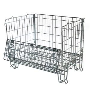 Hypacage Mesh Pallet Cage - 600kg capacity - 1000h x 1200w x 800d