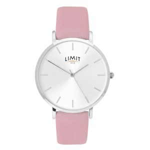 Limit Ladies Classic Round Watch with Leather Strap