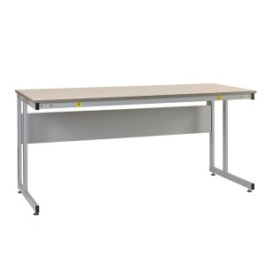 Manufacturing Cantilever Workbenches, Veneer top, 840 x 1500 x 750