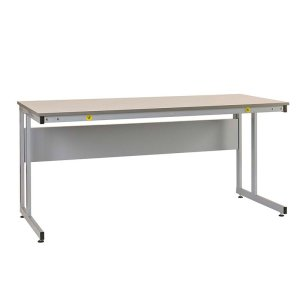 Manufacturing Cantilever Workbenches, Veneer top, 840 x 1800 x 600