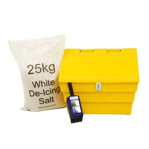 Mini 50 Litre Grit Bin With Hasp And Staple