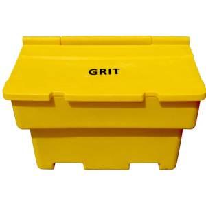 Standard Grit Bins 200ltr With 8 x 25kg Bags of Rock Salt