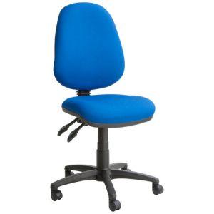 Steelco Kirby KR030 High Back Operator Chair - Blue
