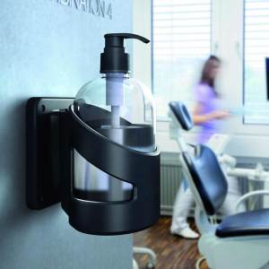Wall Mounted Hand Sanitiser Station, Magnetic Fixing