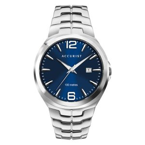 Accurist Gents Signature Watch with Stainless Steel Bracelet