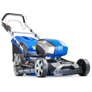 """Hyundai Hyundai HYM80LI460SP 80V Lithium-Ion Cordless Battery Powered Self Propelled Lawn Mower 18"""" Cutting Width With Battery & Charger"""