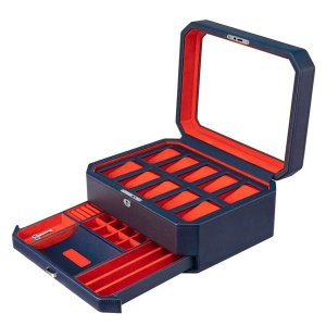 Mainspring Arsenale Castello 10-Piece Watch Box and Valet