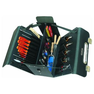 """Bernstein 5600 Electrician's Case """"MULTI"""" With 42 Tools"""