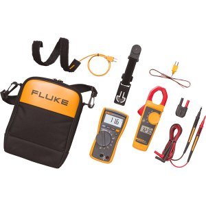 Fluke 116/323 HVAC True RMS Multimeter and Clamp Meter Combo Kit