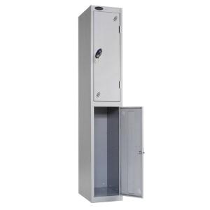 Probe 2-Door Steel Lockers - Nest of 2 - 1780h x 305w x 305d
